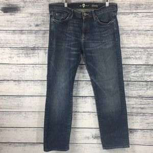 7 For All Mankind Slimmy Jeans Size 34